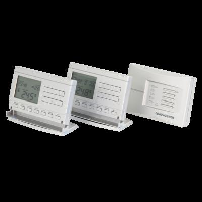 Computherm Q8RF - višezonski upravljač s 2 digitalna bežična tjedno programabilna termostata