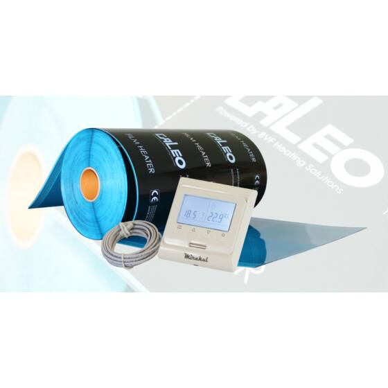 Set - grijaći film sa termostatom za sobu od 6 m2