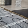 Slika 4/4 - Grijača mreža - postavljanje grijaće mreže u kupaoni