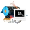 Slika 1/6 - Set - električno podno grijanje - grijaći film sa termostatom za sobu od 8 m2