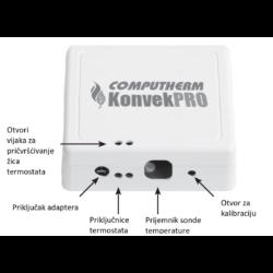 Plinska peć - Termostat