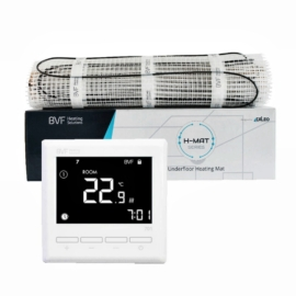 SET - Električna grijaća mreža 3 m2 ukupne snage 300W + digitalni termostat BVF 701 sa podnim senzorom