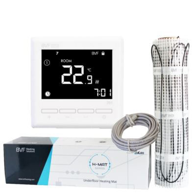 Grijaća mreža 4,5 m2 ukupne snage 675W + sobni termostat BVF 701