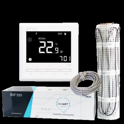 Grijaća mreža 12 m2 ukupne snage 1800W + sobni termostat BVF 701