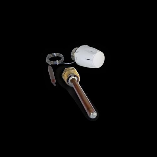 centralno grijanje - kapilarna termostatska glava ventila