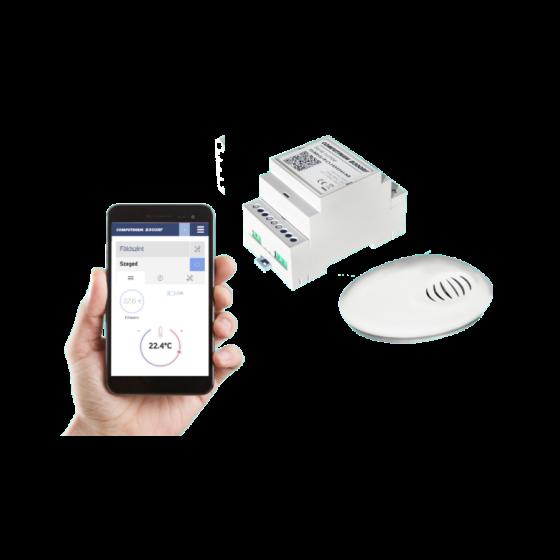 Wi-Fi termostat s bežičnim osjetnikom temperature Computherm B300 RF