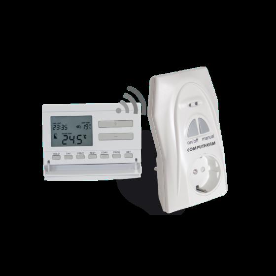 Bežični sobni termostat sa utikačem prijemnikom