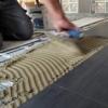 Slika 5/5 - Postavljanje pločica u fleksibilno ljepilo na grijaćoj mreži