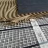 Slika 3/4 - Postavljanje grijaće mreže u fleksibilno ljepilo