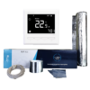 Slika 1/6 - ALuminijska grijaća folija od 2 m2 - 200W u kompletu sa termostatom