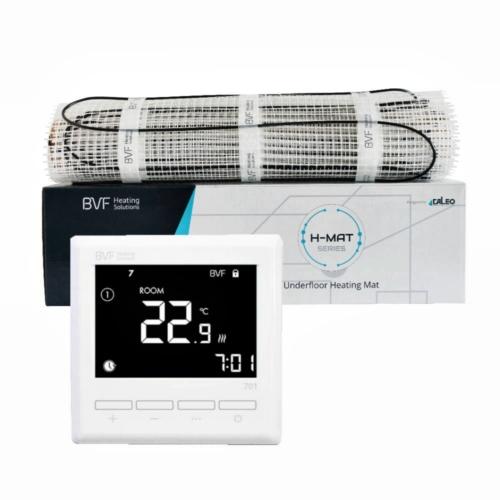 SET - Električna grijaća mreža 10 m2 ukupne snage 1000W + digitalni termostat BVF 701 sa podnim senzorom